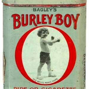 Burley Boy Tobacco Tin