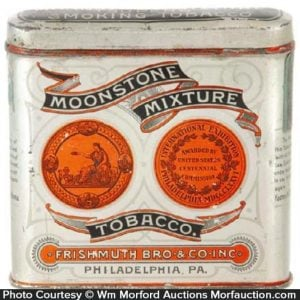 Moonstone Mixture Tobacco Tin