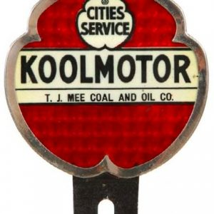 Cities Service Koolmotor Bumper Tag