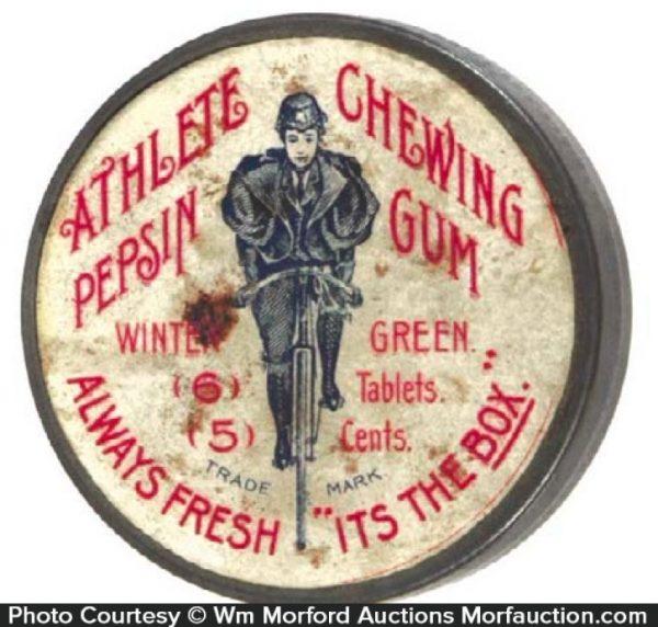 Athlete Chewing Gum Tin