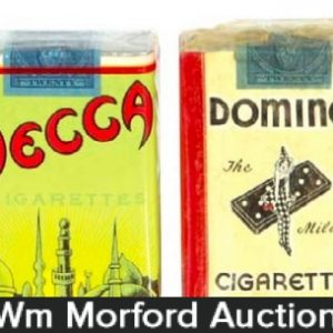 Early Cigarette Packs