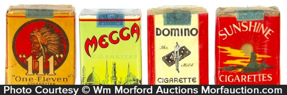 Early Cigarette Packs