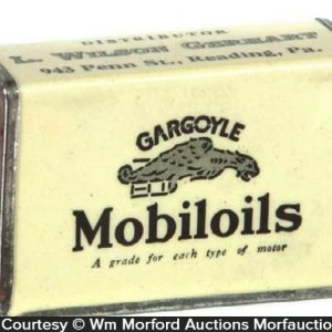 Gargoyle Mobiloils Match Holder