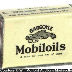 Gargoyle Mobiloils Match Holder