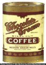 Chocolate Cream Coffee Tin Sample