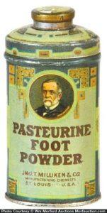 Pasteurine Foot Powder Tin