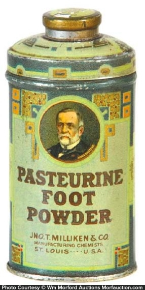 Pasteurine Foot Powder Tin