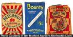 Sample Tobacco Packs