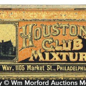 Houston Club Tobacco Tin
