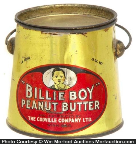 Billie Boy Peanut Butter Pail