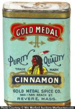 Gold Medal Spice Tin