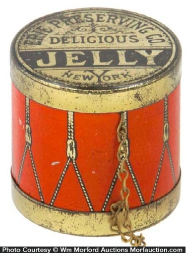 Erie Preserving Jelly Tin