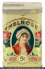 Melrose Cigar Can