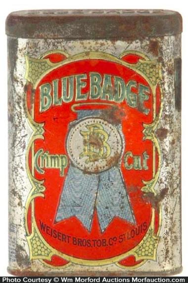 Blue Badge Tobacco Tin