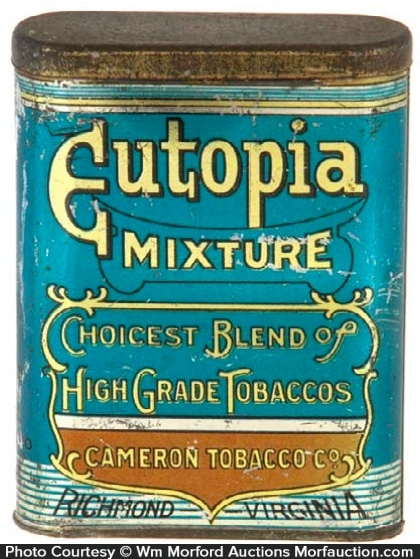 Eutopia Mixture Tobacco Tin