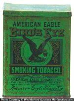 American Eagle Bird's Eye Tobacco Tin
