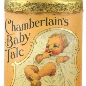 Chamberlain's Baby Talc Tin