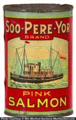 Soo-Pere-Yor Salmon Tin