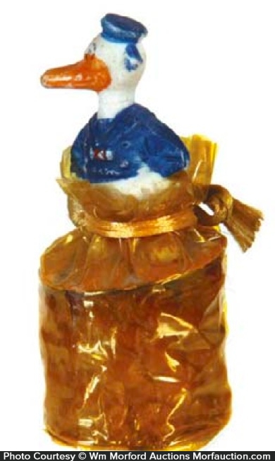 Donald Duck Candy Container