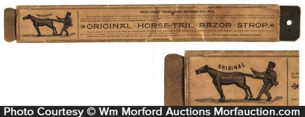 Horse-Tail Razor Strop