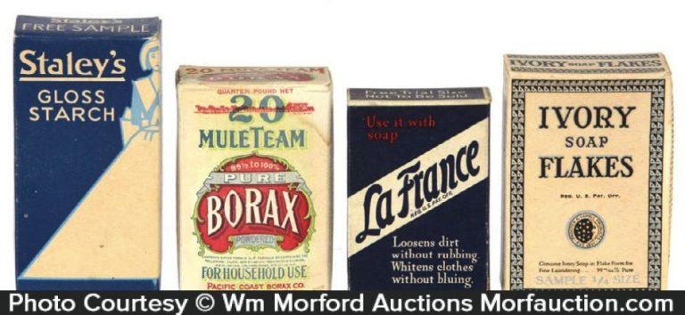 Miniature Sample Soap Boxes