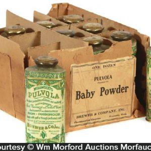 Pulvola Baby Powder Tins
