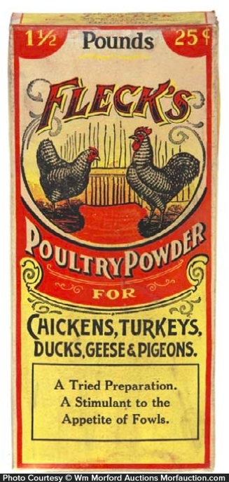 Fleck's Poultry Powder Box