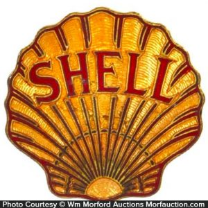 Shell Service Station Badge