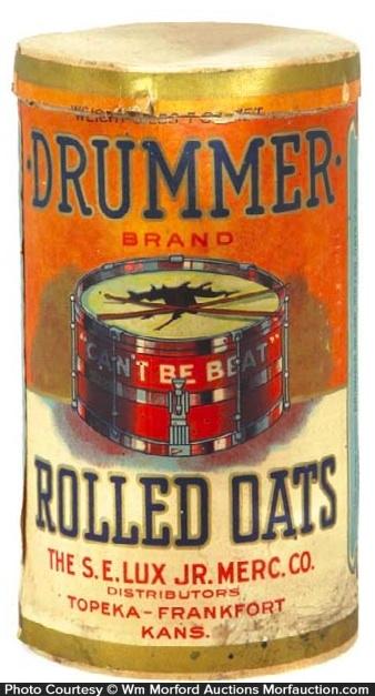 Drummer Oats Box