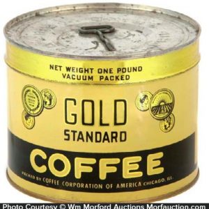 Gold Standard Coffee Can