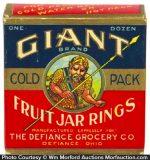 Giant Fruit Jar Rings Box