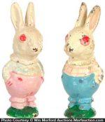 Vintage Rabbit Paperweights