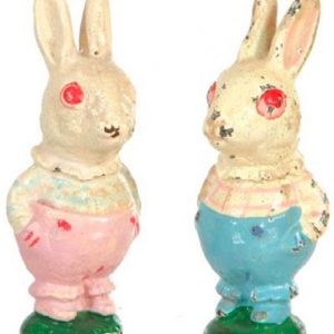 Vintage Rabbit Paperweights