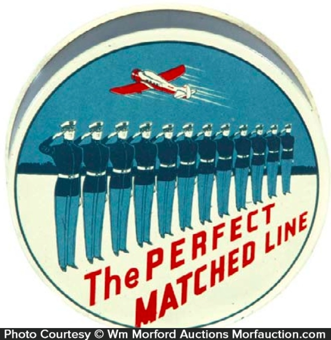 Perfect Matched Line Ribbon Tin