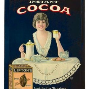 Lipton's Cocoa Sign
