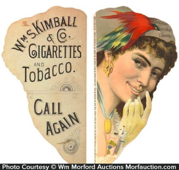 Vanity Fair Cigarette Signs
