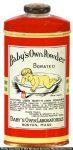 Baby's Own Powder Tin
