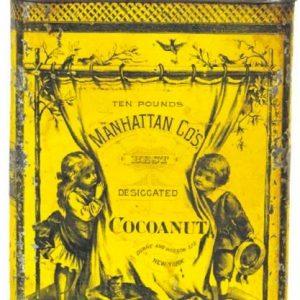 Manhattan Cocoanut Tin