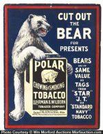 Polar Bear Tobacco Ad