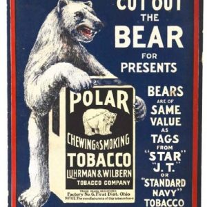 Polar Bear Tobacco Ad