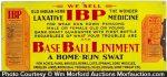 Ibp Baseball Liniment Sign