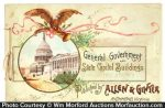 Allen & Ginter Tobacco Cards Album