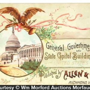 Allen & Ginter Tobacco Cards Album