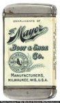 Mayer Boot & Shoe Match Safe