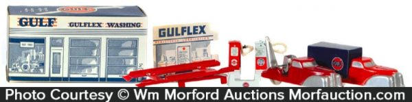 Gulf Gulflex Service Station Toy
