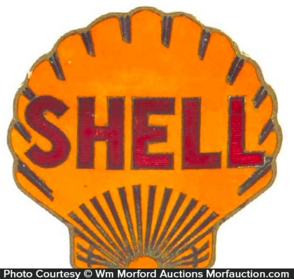 Shell Station Badge