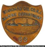 Standard Oil Co. Maritime Badge
