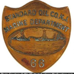 Standard Oil Co. Maritime Badge