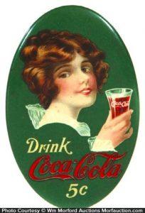 1914 Coca-Cola Mirror