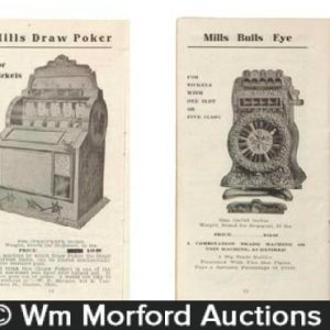 Mills Trade Stimulators Catalog